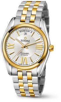 Швейцарские наручные  мужские часы Titoni 93909-SY-342. Коллекция Airmaster