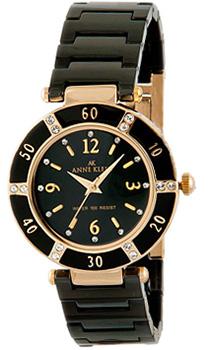 fashion наручные  женские часы Anne Klein 9416BKBK. Коллекция Ceramics