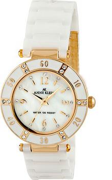 fashion наручные  женские часы Anne Klein 9416WTWT. Коллекция Ceramics