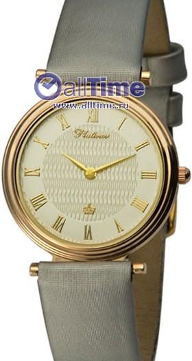 Женские наручные золотые часы в коллекции Round Platinor