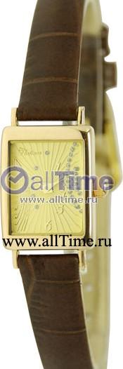Женские наручные золотые часы в коллекции Rectangular Platinor