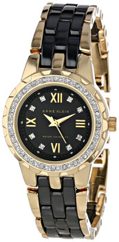 fashion наручные  женские часы Anne Klein 9456BKGB. Коллекция Ceramics
