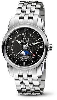 Швейцарские наручные  мужские часы Titoni 94788-S-367. Коллекция Master Series