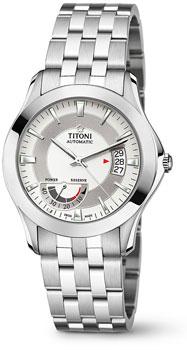Швейцарские наручные  мужские часы Titoni 94929-S-355. Коллекция Impetus