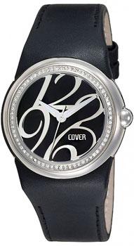 Швейцарские наручные  женские часы Cover 95.ST1LBK_SW. Коллекция Ladies