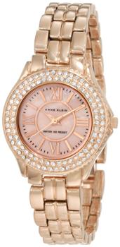 fashion наручные  женские часы Anne Klein 9536RMRG. Коллекция Crystal