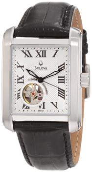 Японские наручные  мужские часы Bulova 96A127. Коллекция Mechanical