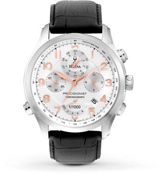 Японские наручные  мужские часы Bulova 96B182. Коллекция Precisionist
