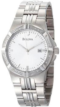 Японские наручные  мужские часы Bulova 96E107. Коллекция Diamond