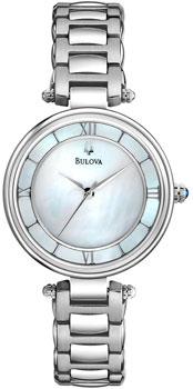 Японские наручные  женские часы Bulova 96L185. Коллекция Dress