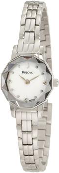 Японские наручные  женские часы Bulova 96P129. Коллекция Diamond