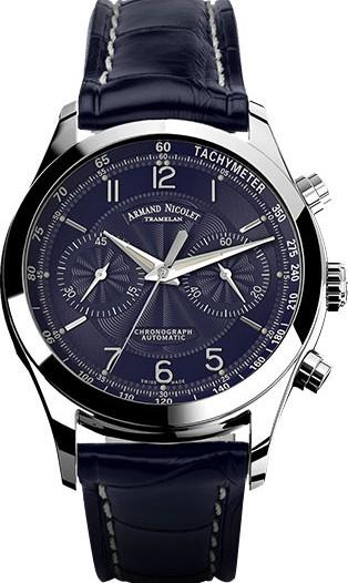 Мужские наручные швейцарские часы в коллекции M02 Armand Nicolet