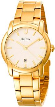 Японские наручные  мужские часы Bulova 97B107. Коллекция Dress