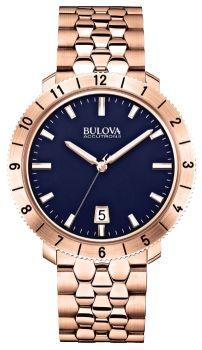 Японские наручные  мужские часы Bulova 97B130. Коллекция Accutron