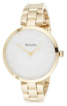 Японские наручные  женские часы Bulova 97L142. Коллекция Classic