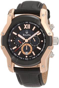 Японские наручные  мужские часы Bulova 98B158. Коллекция Marine Star