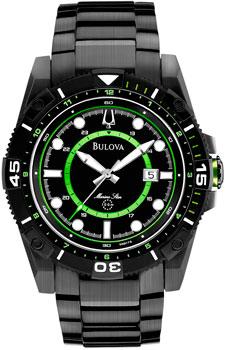 Японские наручные  мужские часы Bulova 98B178. Коллекция Marine Star