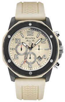 Японские наручные  мужские часы Bulova 98B201. Коллекция Marine Star