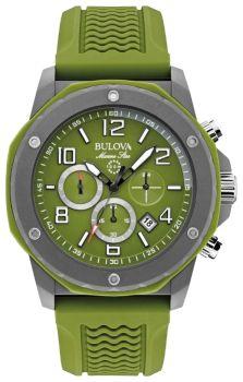 Японские наручные  мужские часы Bulova 98B202. Коллекция Marine Star