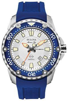 Японские наручные  мужские часы Bulova 98B208. Коллекция Marine Star