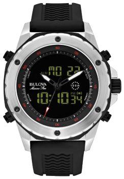 Японские наручные  мужские часы Bulova 98C119. Коллекция Marine Star