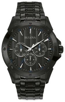 Японские наручные  мужские часы Bulova 98C121. Коллекция Classic