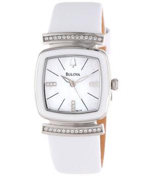 Японские наручные  женские часы Bulova 98L174. Коллекция Crystal