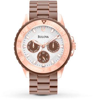 Японские наручные  женские часы Bulova 98N103. Коллекция Marine Star