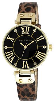 fashion наручные  женские часы Anne Klein 9918BKLE. Коллекция Ring
