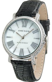 fashion наручные  женские часы Anne Klein 9921MPBK. Коллекция Crystal