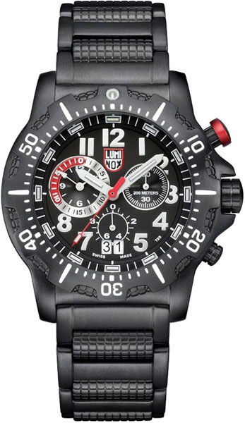 Мужские наручные швейцарские часы в коллекции Sea Luminox