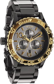 fashion наручные  мужские часы Nixon A037-1228. Коллекция 42-20 Chrono