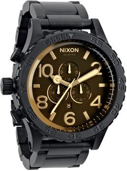 fashion наручные  мужские часы Nixon A083-1354. Коллекция 51-30 Chrono