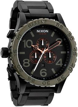 fashion наручные  мужские часы Nixon A083-1530. Коллекция 51-30 Chrono