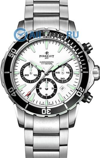 Мужские наручные швейцарские часы в коллекции Diver Perrelet