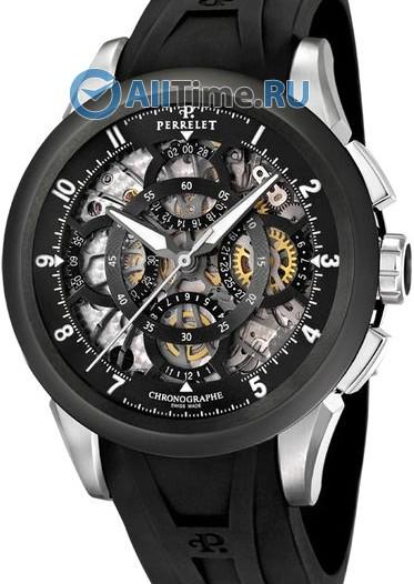 Мужские наручные швейцарские часы в коллекции Chronograph Perrelet