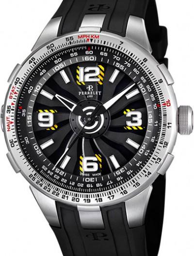 Мужские наручные швейцарские часы в коллекции Turbine Perrelet