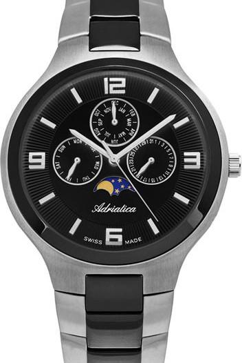 Мужские наручные швейцарские часы в коллекции Multifunction Adriatica