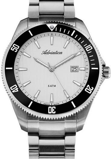 Мужские наручные швейцарские часы в коллекции Bracelet Adriatica