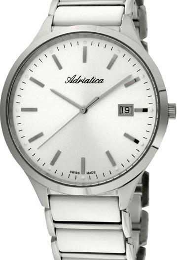 Мужские наручные швейцарские часы в коллекции Ceramic Adriatica