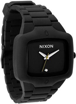 fashion наручные  мужские часы Nixon A139-000. Коллекция Rubber Player