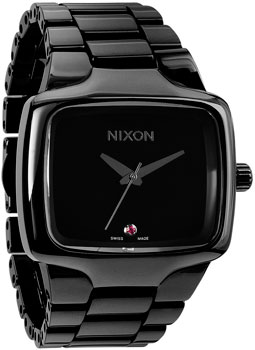 fashion наручные  мужские часы Nixon A145-001. Коллекция Ceramic Player