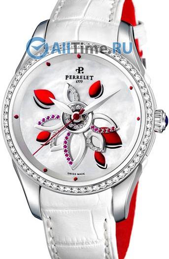 Женские наручные швейцарские часы в коллекции Double Rotor Perrelet