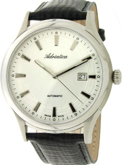 Мужские наручные швейцарские часы в коллекции Automatic Adriatica