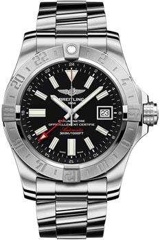 Швейцарские наручные  мужские часы Breitling A3239011-BC35-170A