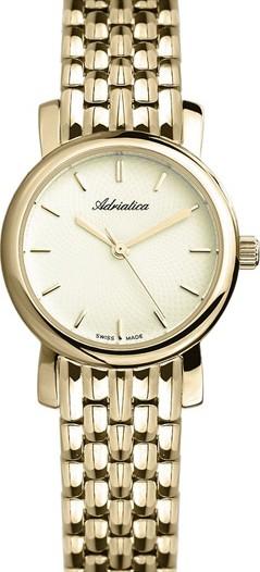 Женские наручные швейцарские часы в коллекции Bracelet Adriatica