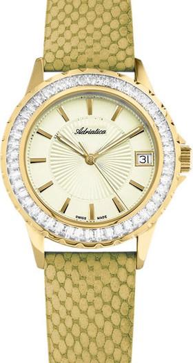Женские наручные швейцарские часы в коллекции Zirconia Adriatica