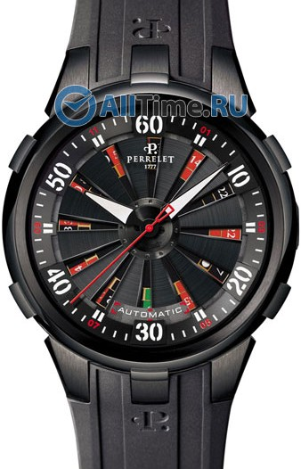 Мужские наручные швейцарские часы в коллекции Double Rotor Perrelet