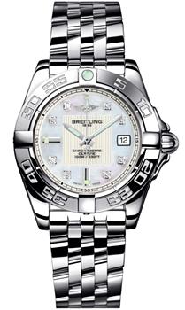 Швейцарские наручные  женские часы Breitling A71356L2-A708-367A