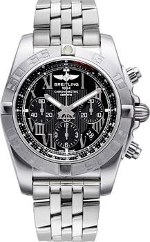 Швейцарские наручные  мужские часы Breitling AB011011-B956-375A
